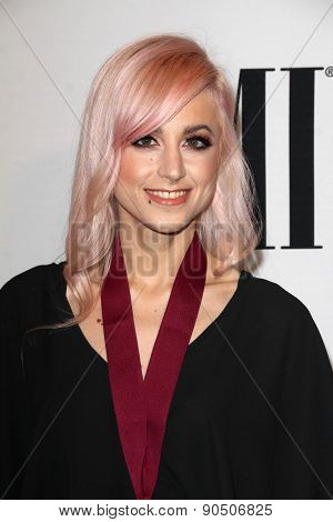 LOS ANGELES - MAY 12:  Carah Faye Charnow at the BMI Pop Music Awards at the Beverly Wilshire Hotel on May 12, 2015 in Beverly Hills, CA