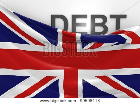 United Kingdom national debt and budget deficit financial crisis