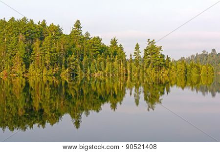Morning Reflections In The North Woods
