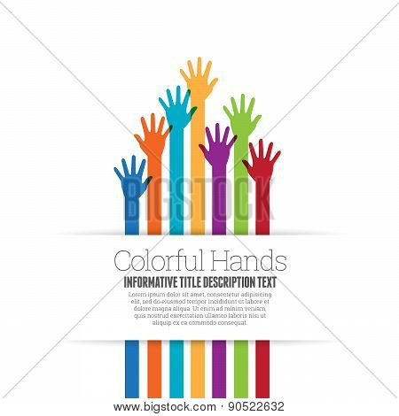Color Hands Space
