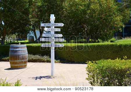 Jacobs Creek, Orlando Wines, Visitor Center At Rowland Flat, Barossa Valley.