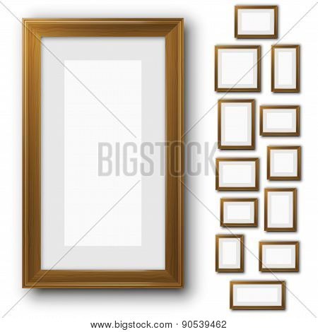 Frames Set Vector & Photo (Free Trial) | Bigstock