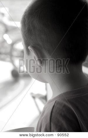 Children-Wishing To Go Outside