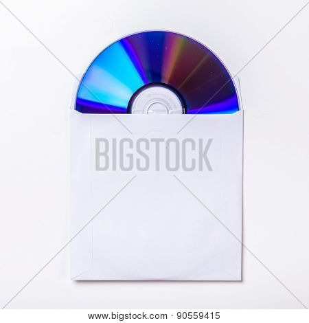 CD or DVD inside cover