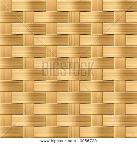 Wicker pattern. Seamless illustration.