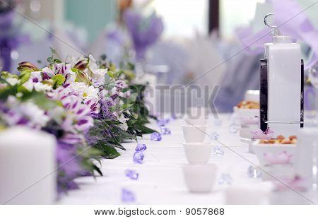 Catering Arrangement Of Wedding