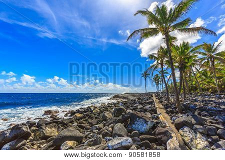 Ahalanui Beach Park - Hawaii