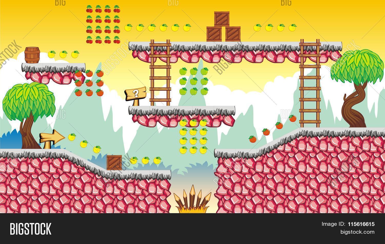 Game Platform 3 eps Vector & Photo (Free Trial) | Bigstock