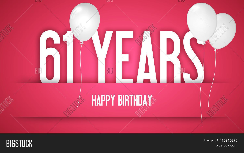 Happy Birthday Card Image Photo Free Trial Bigstock