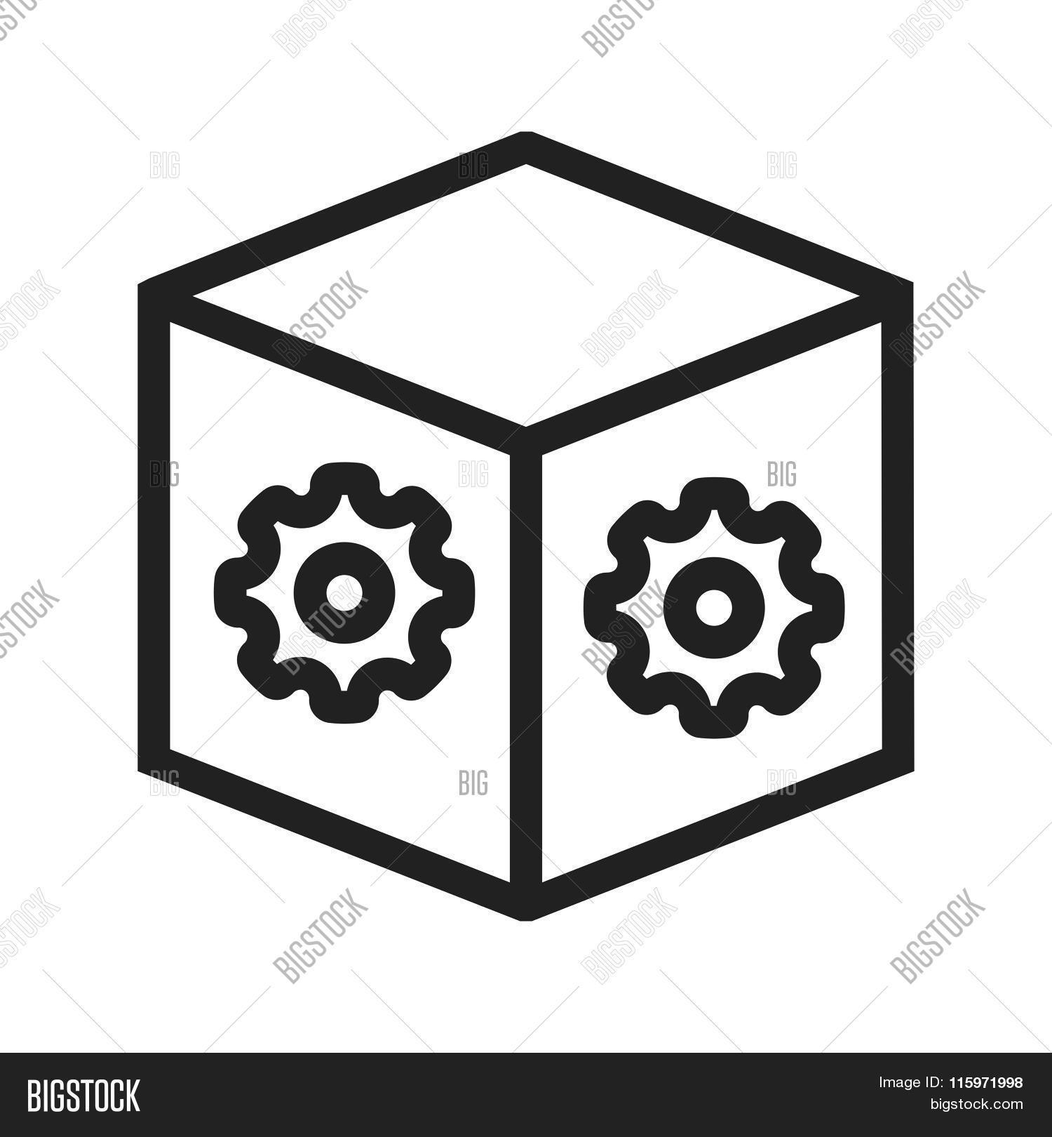 Dropbox Settings Vector Photo Bigstock