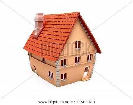 House .3d illustration.