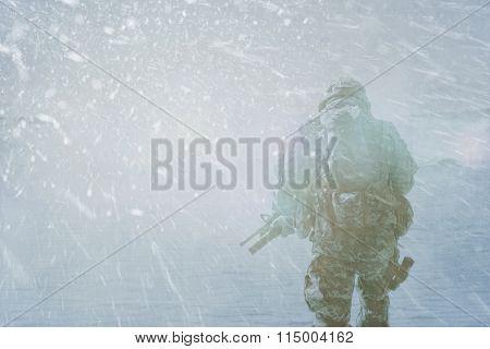 Trooper winter storm