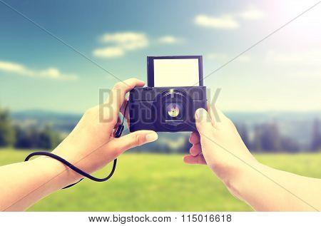 Hand Digital Camera.