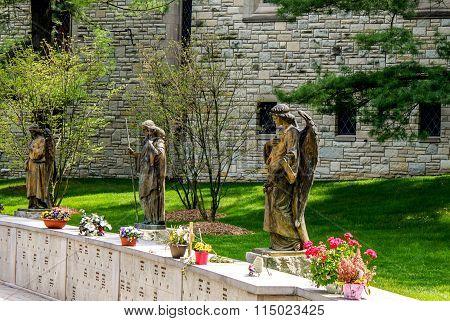 A columbarium