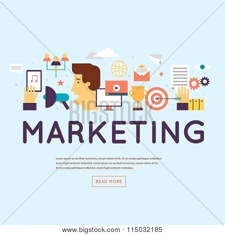 Marketing, email marketing, video marketing and digital marketing.