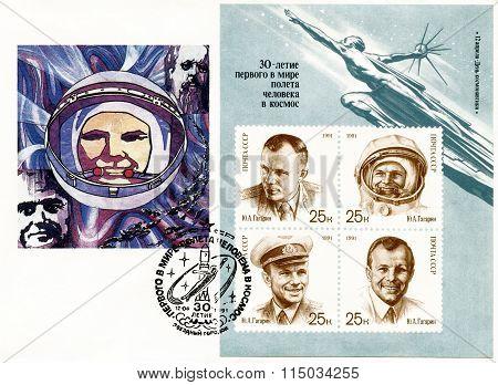 The World's First Cosmonaut Is Yuri Alekseyevich Gagarin