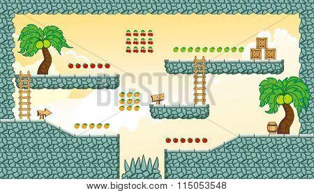 Platform Game Tileset 20.eps