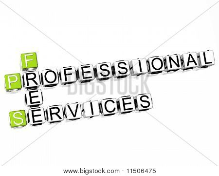 Profesional Services Crossword