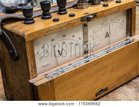Vintage Analog Electric Meter