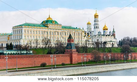 Moscow Kremlin And Novodevichy Convent
