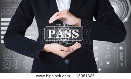 Business women holding posts in PASS.