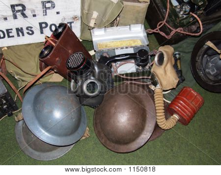 Copy Of Gas Masks And Helmets Fochabers