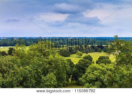 English Landscape Near Windsor Castle