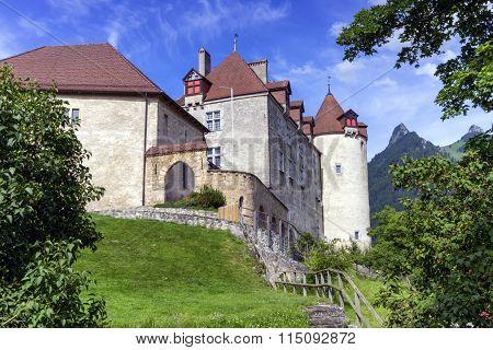 Castle of Gruyeres, Fribourg, Switzerland