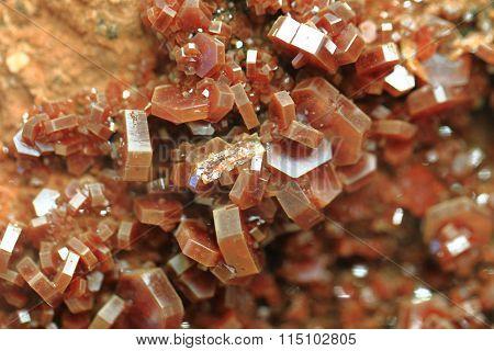 Vanadinite Mineral Texture