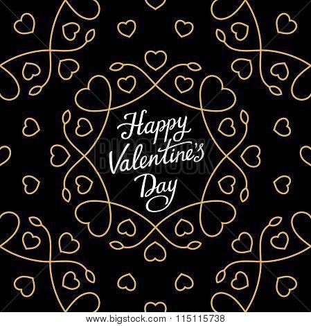 Happy Valentine's Swirl