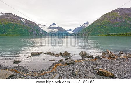 Early Morning On A Glacial Lake