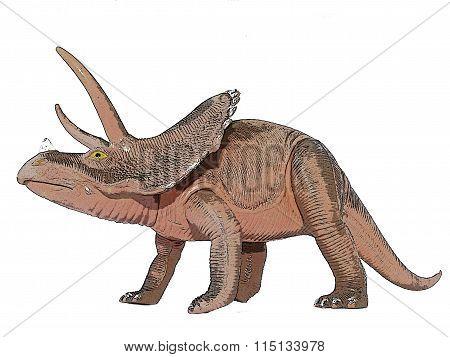 Dino Triceraptos