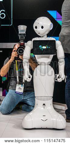 2016 CES Celebrity Robot