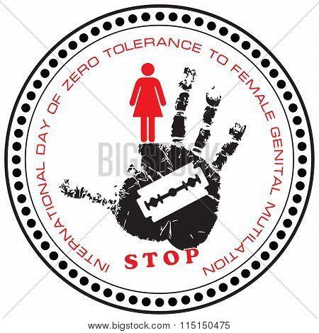 Stamp Stop Female Genital Mutilation