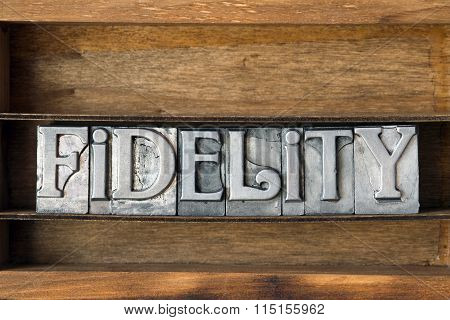 Fidelity Word Tray