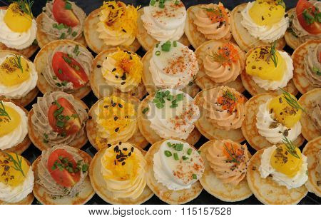French Assortment Of Petits Fours
