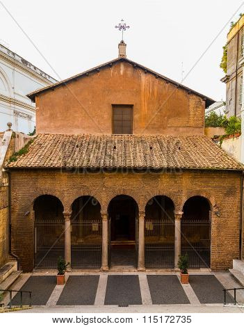 Parrocchia Santi Vitale E Compagni Martiri In Fovea Church In Rome