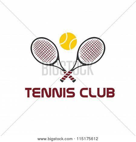 Tennis Club Illustration