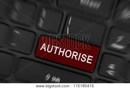 Laptop Button - Authorise