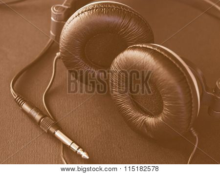 Headphones Vintage