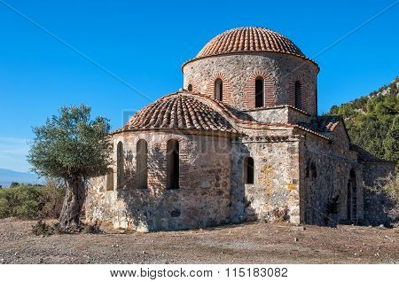 Monastery  In Northern Cyprus.