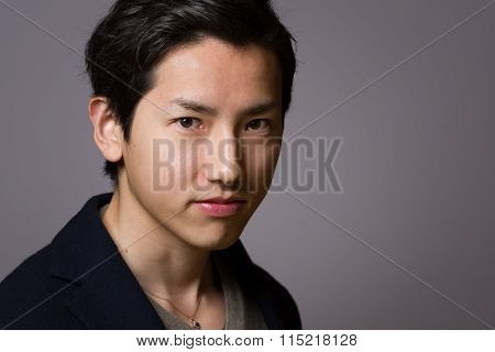 Japanese Man Headshot