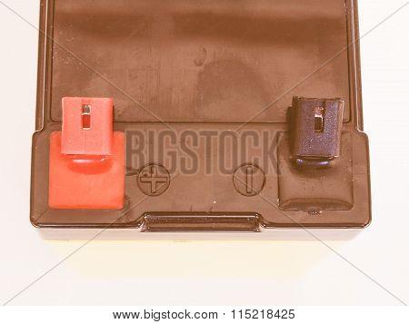 12V Battery Vintage