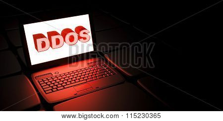 Distributed denial-of-service DDoS attack