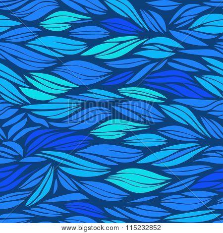 blue wavy pattern