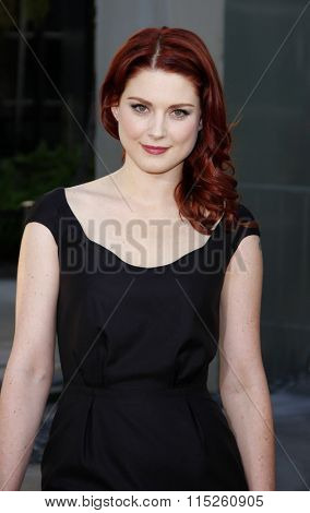 HOLLYWOOD, CALIFORNIA - June 21, 2011. Alexandra Breckenridge at the HBO's season 4 premiere of