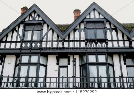Beautifully decorated building