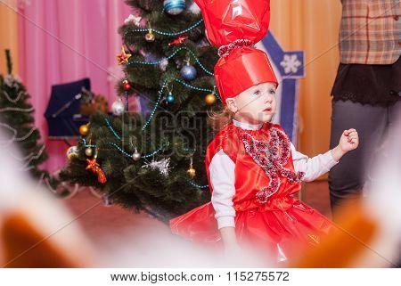 New Year's Morning In Kindergarten Editorial Reportage Lutsk 21.12.2015