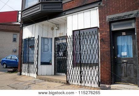 Shuttered Storefront