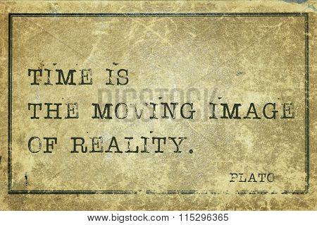 Time Image Plato